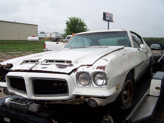 Classic Muscle Cars >> 1972 GTO 455 | C&J Classic Cars